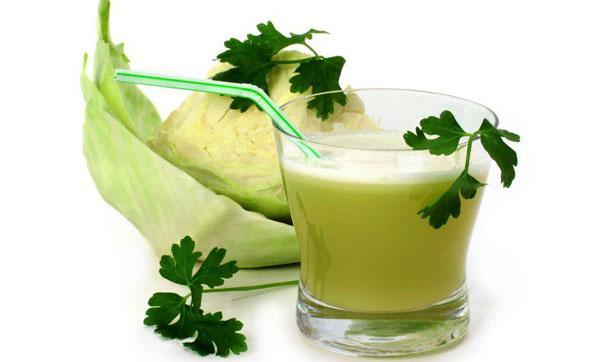 полезный капустный сок
