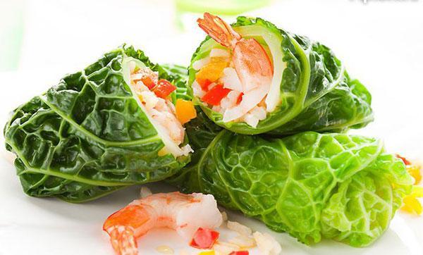 блюдо из савойской капусты