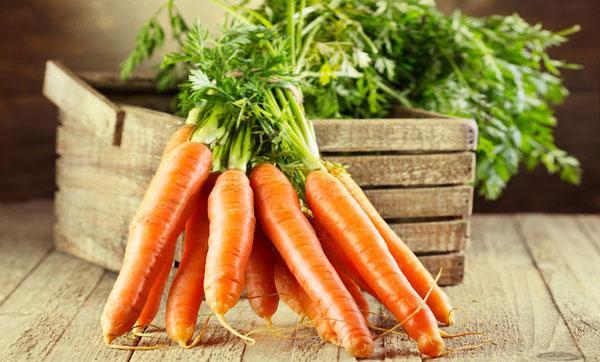 хранение морковки