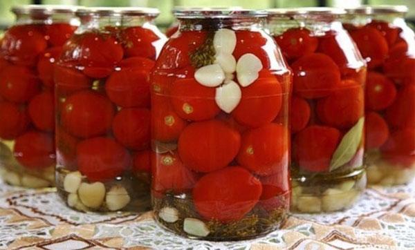 заготовки из томатов