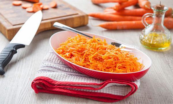 польза сырой морковки