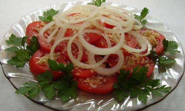 салат из томата