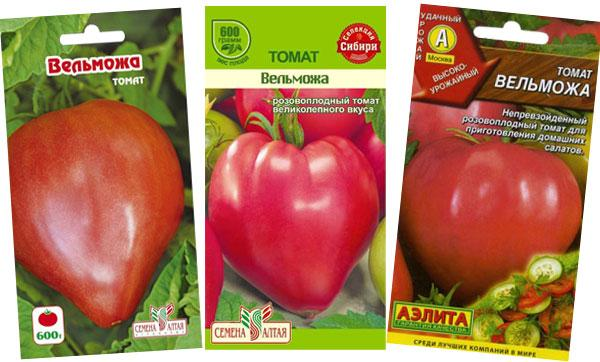 семена томата Вельможа