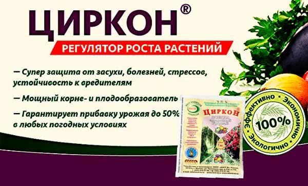 польза Цирконя для растений